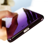 Gradient Purple Light Case For iPhone